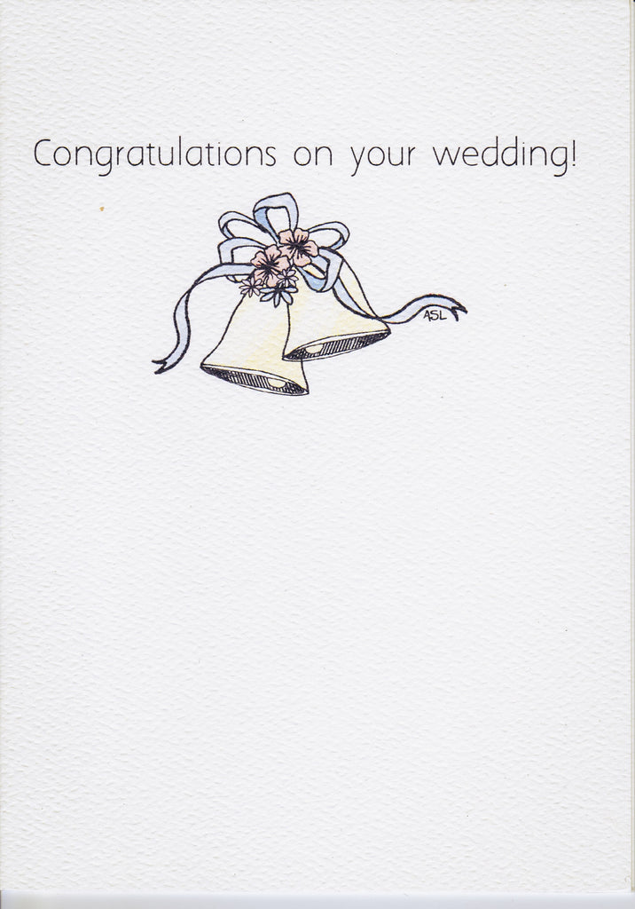 Congratulations on your wedding!