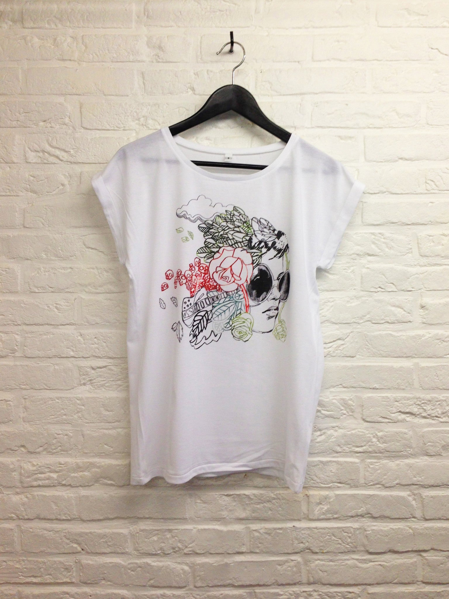 TH Gallery - Headonista Colors - Femme-T shirt-Atelier Amelot