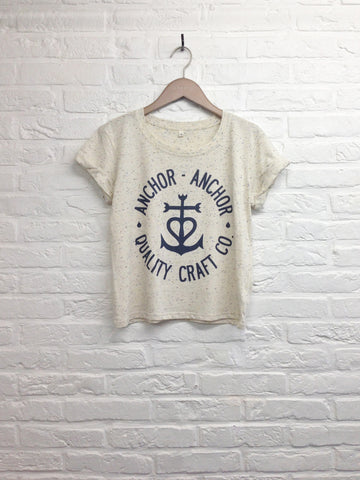 TH Gallery - Anchor Anchor - Crop top speckled