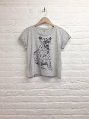 TH Gallery - Guépard - Lop top speckled-T shirt-Atelier Amelot