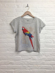 TH Gallery - Perroquet Just chill - Lop top speckled-T shirt-Atelier Amelot