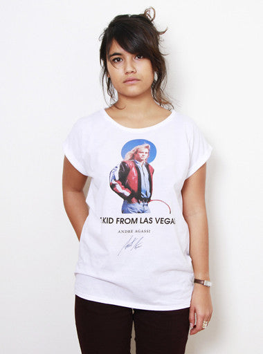 TH Gallery - Agassi Kid from Las Vegas- Femme-T shirt-Atelier Amelot