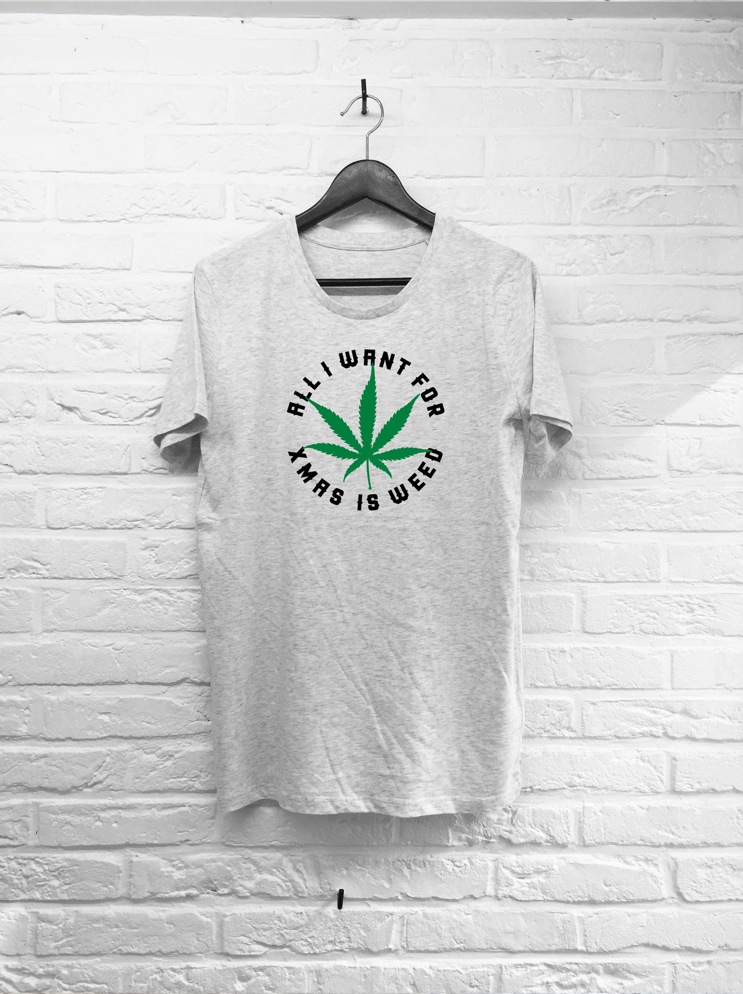 All I want for xmas is weed-T shirt-Atelier Amelot