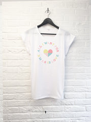 All I want for xmas is love - Femme-T shirt-Atelier Amelot