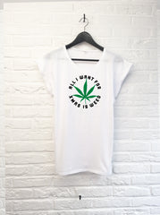 All I want for xmas is weed - Femme-T shirt-Atelier Amelot