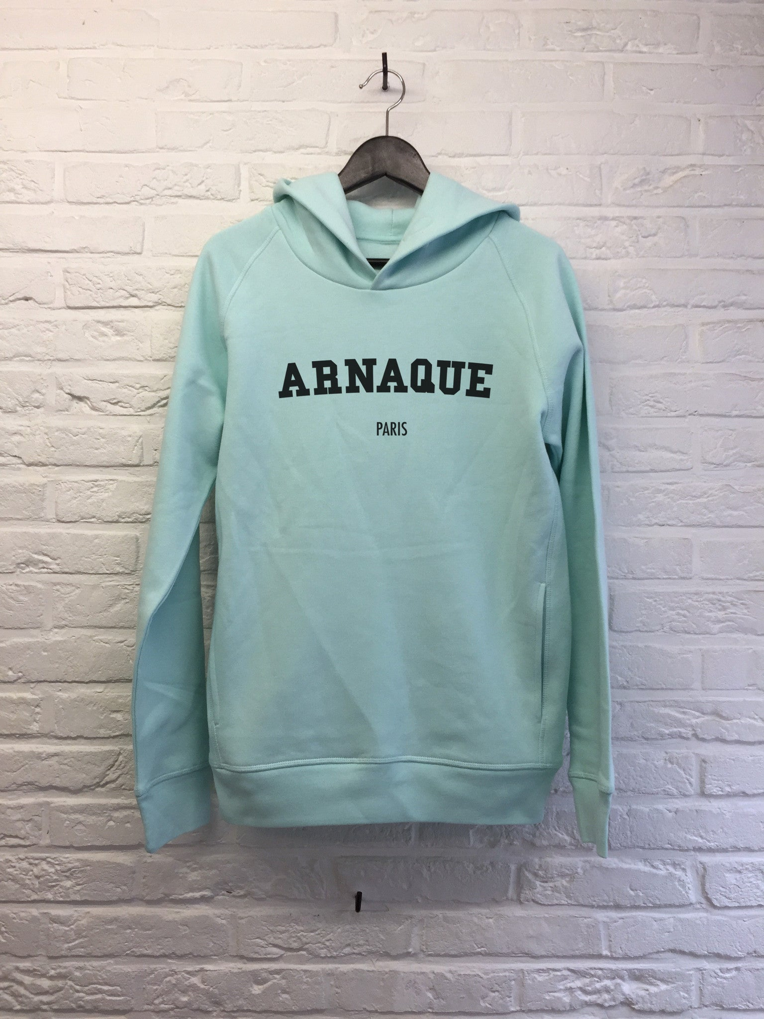 Arnaque Paris - Hoodie Deluxe-Sweat shirts-Atelier Amelot