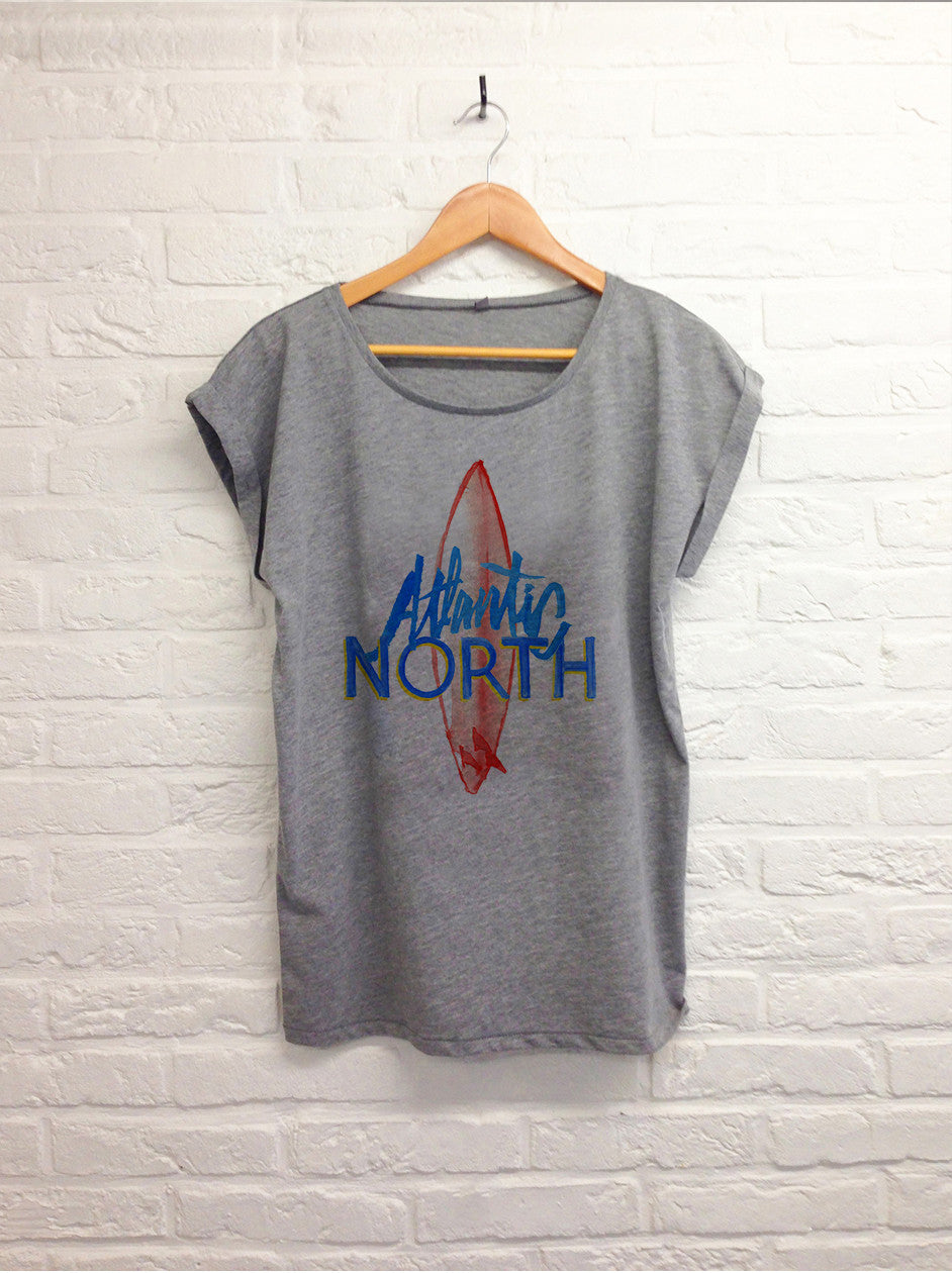 TH Gallery - Atlantic North - Femme Gris-T shirt-Atelier Amelot