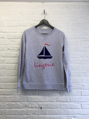 Bateau lingerie - Sweat - Femme-Sweat shirts-Atelier Amelot