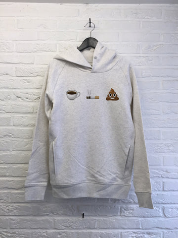 Cafe clope caca - Hoodie Deluxe