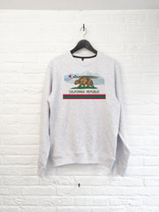 California Bear Montagne Sweat-Sweat shirts-Atelier Amelot