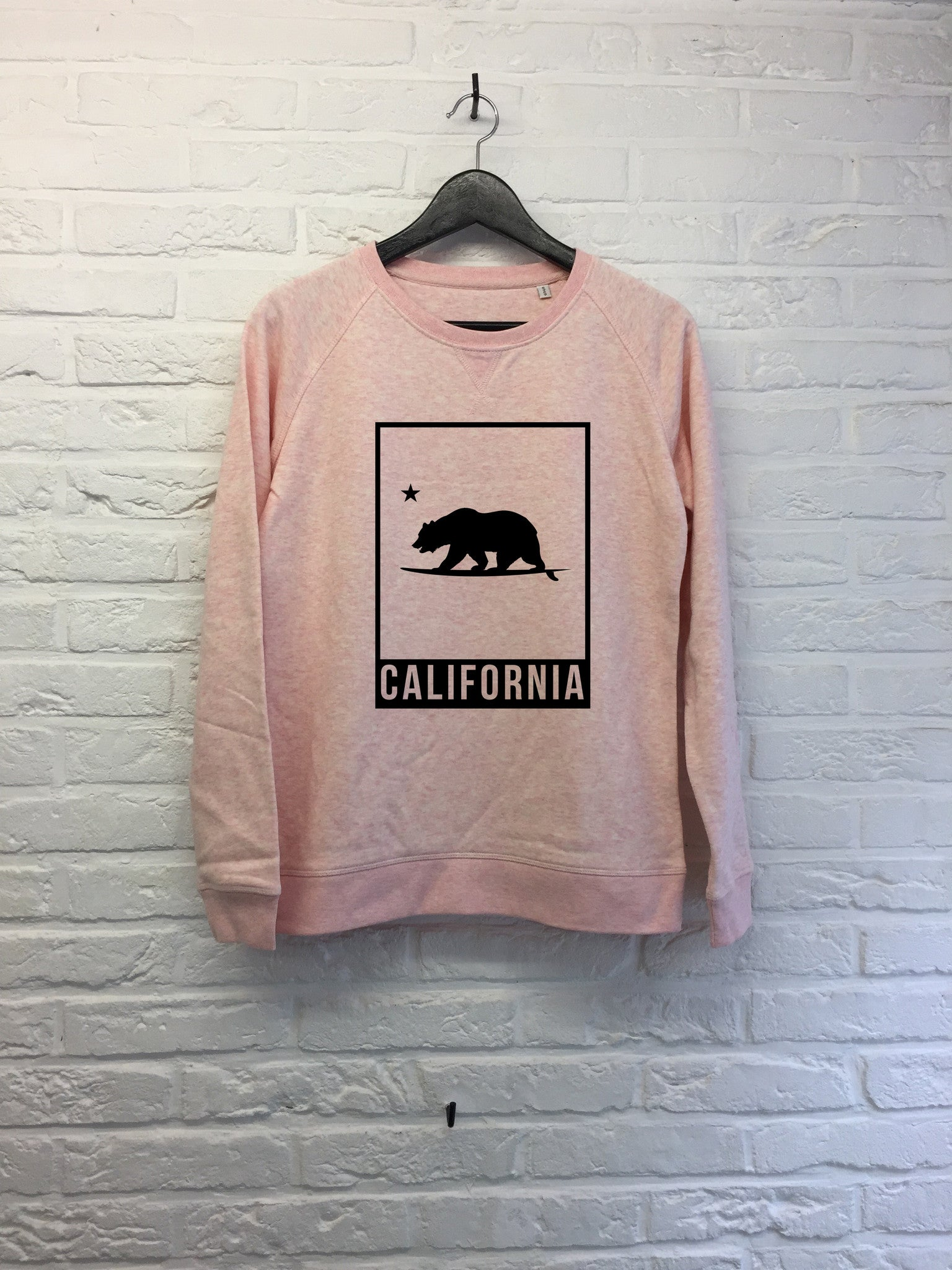 California bear cadre - Sweat - Femme-Sweat shirts-Atelier Amelot