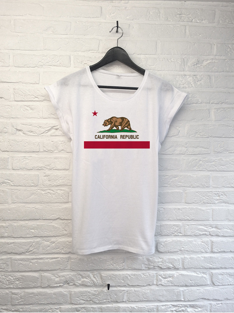 California Republic - Femme-T shirt-Atelier Amelot
