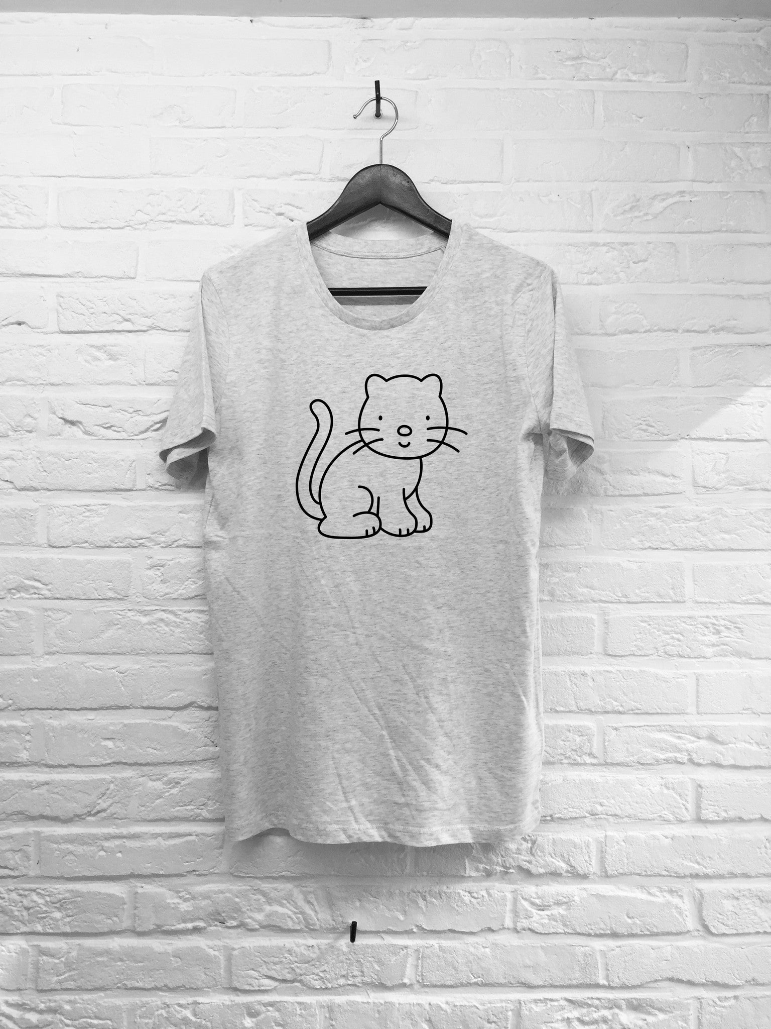 Chat à colorier-T shirt-Atelier Amelot