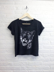 TH Gallery - Chat just chill - Lop top speckled-T shirt-Atelier Amelot