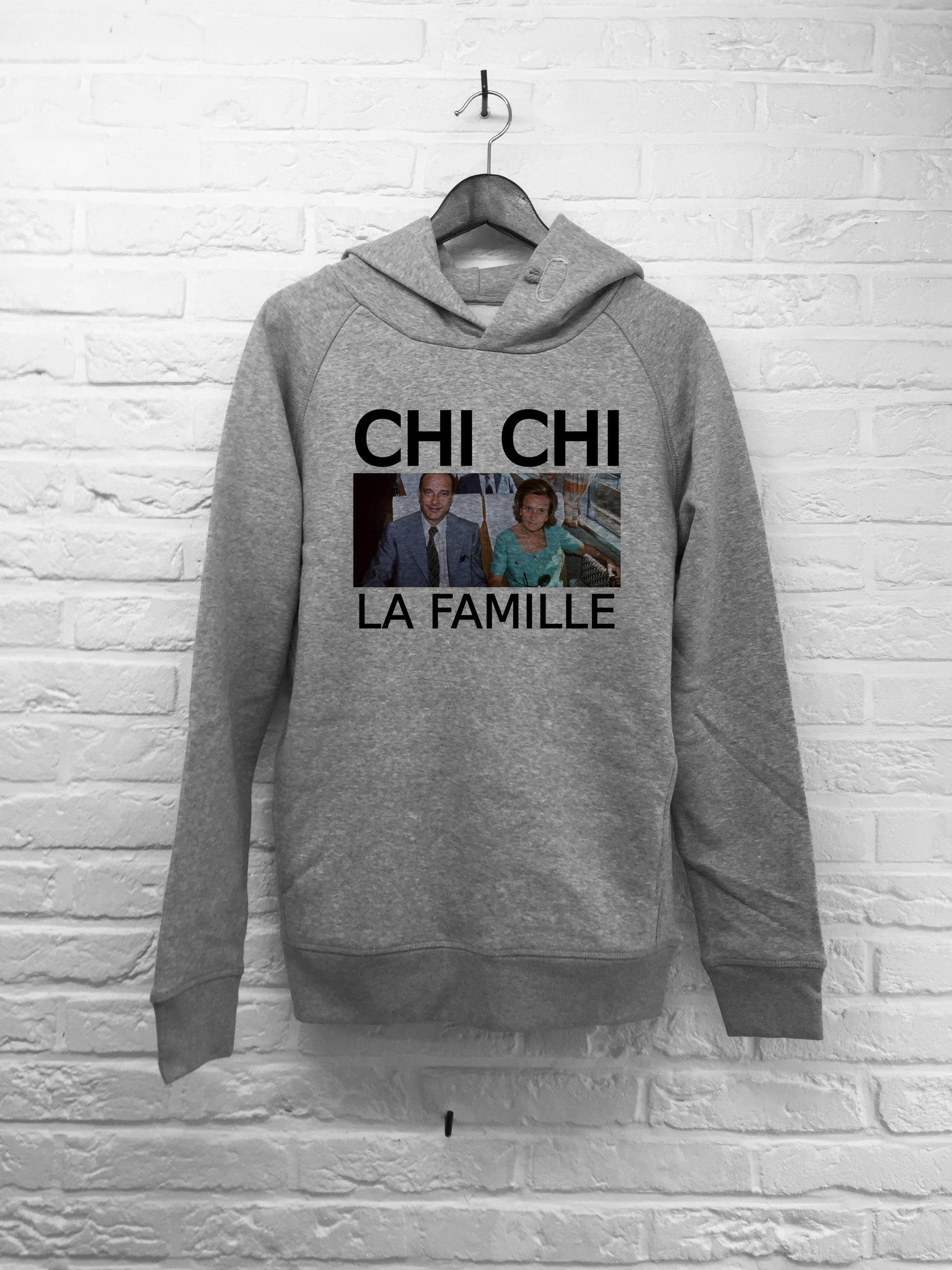 Chichi la famille - Hoodie Deluxe-Sweat shirts-Atelier Amelot