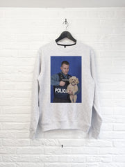 Chien Police Sweat-Sweat shirts-Atelier Amelot