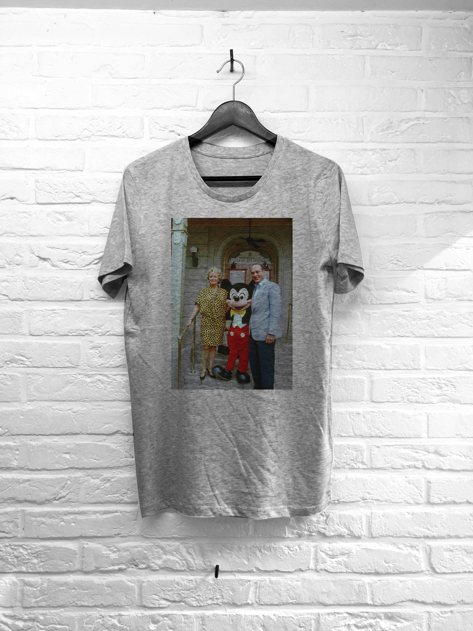 Chirac Mickey-T shirt-Atelier Amelot