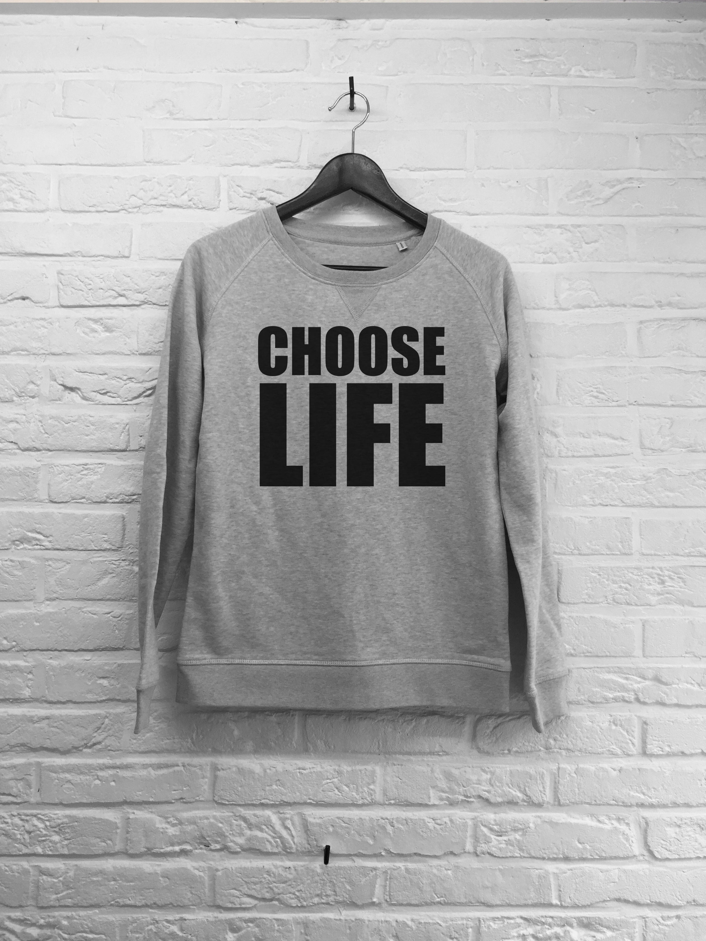 Choose life - Sweat - Femme-Sweat shirts-Atelier Amelot