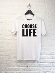 Choose life-T shirt-Atelier Amelot