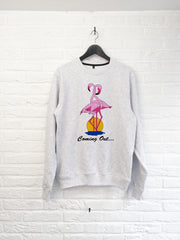 Coming out Flamant rose - Sweat-Sweat shirts-Atelier Amelot