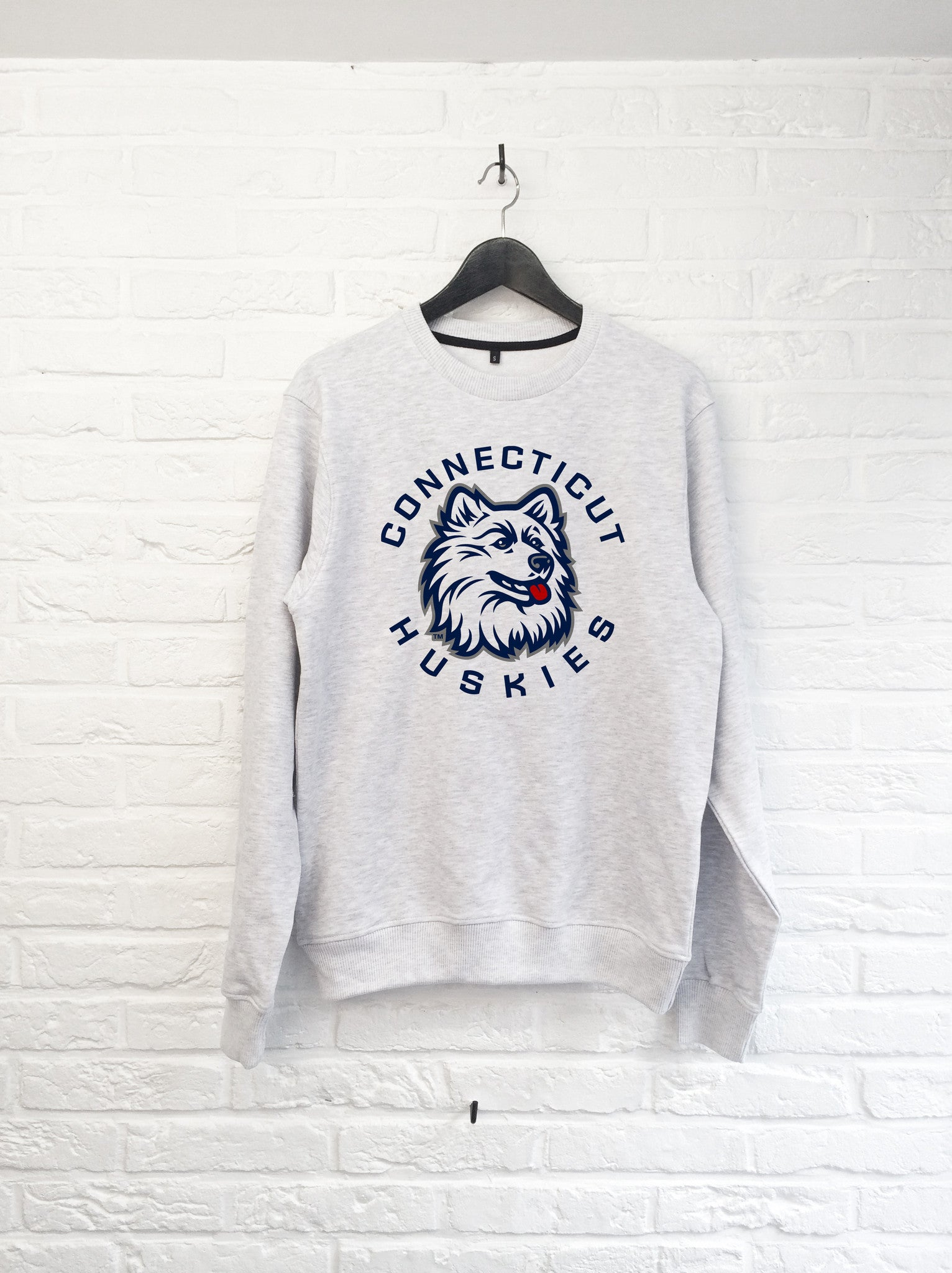 Connecticut Huskies - Sweat-Sweat shirts-Atelier Amelot