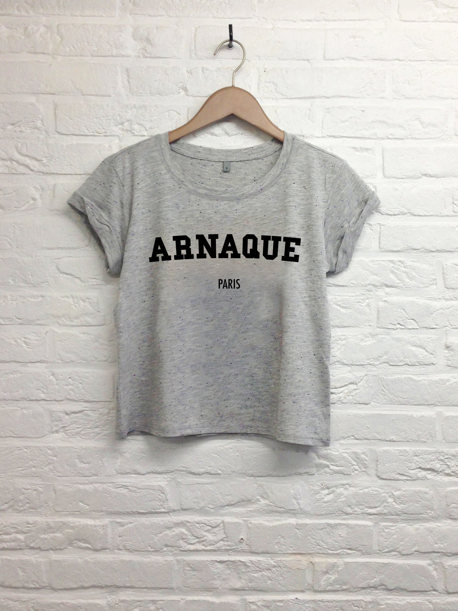 Arnaque Paris - Crop Top-T shirt-Atelier Amelot