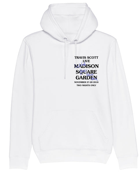 Hoodie Madison Square Garden Wish You Were Here White