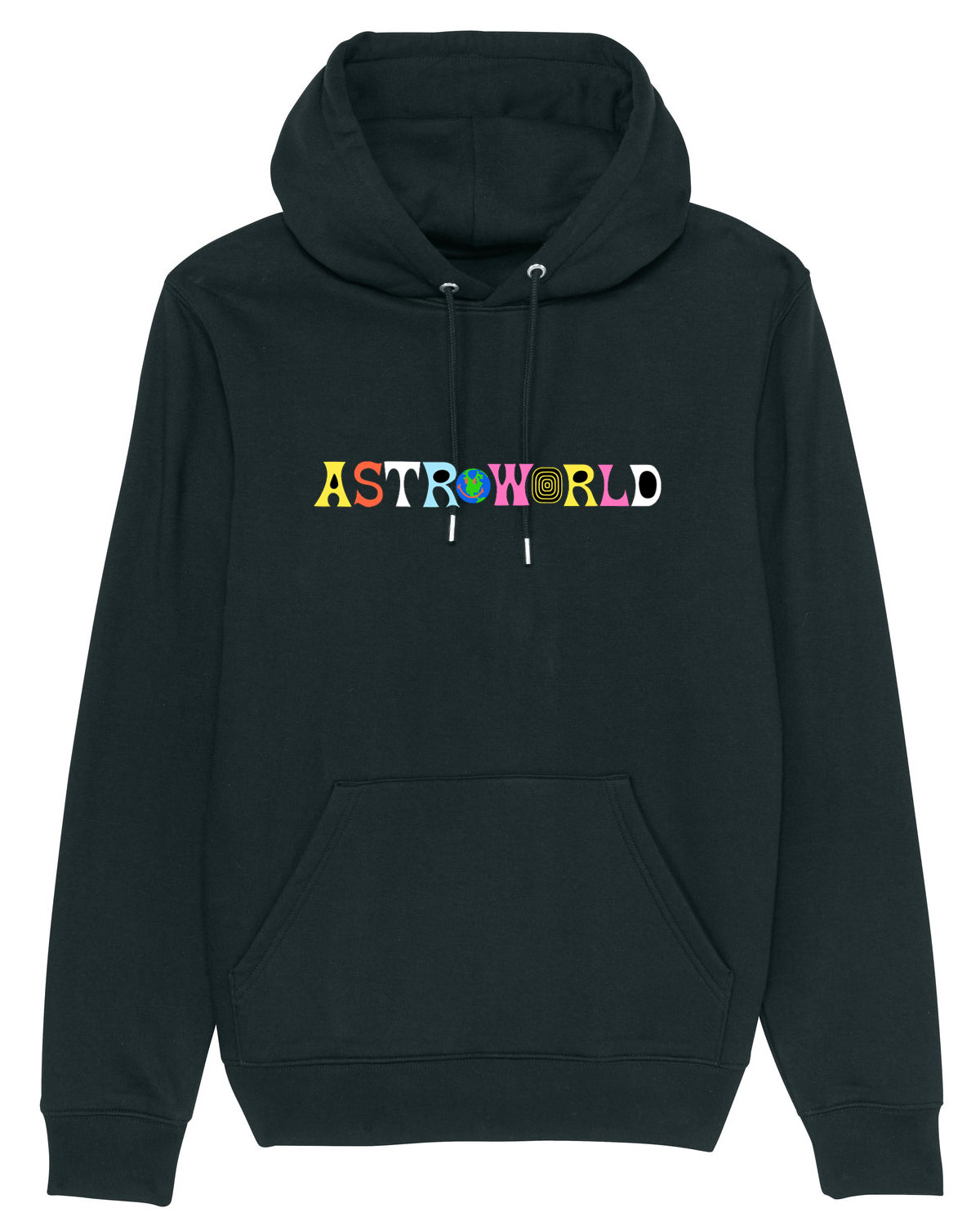 Hoodie Astroworld Don't mess with Texas Black