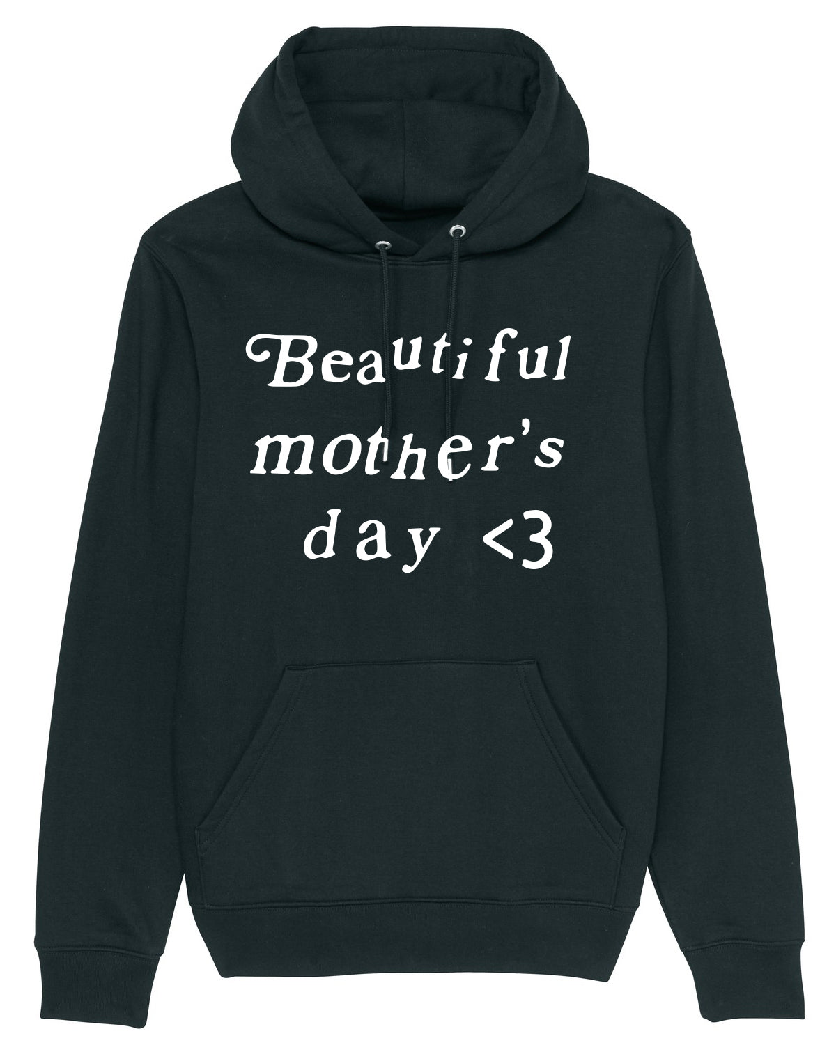 Hoodie Kanye Beautiful mother day Black & White