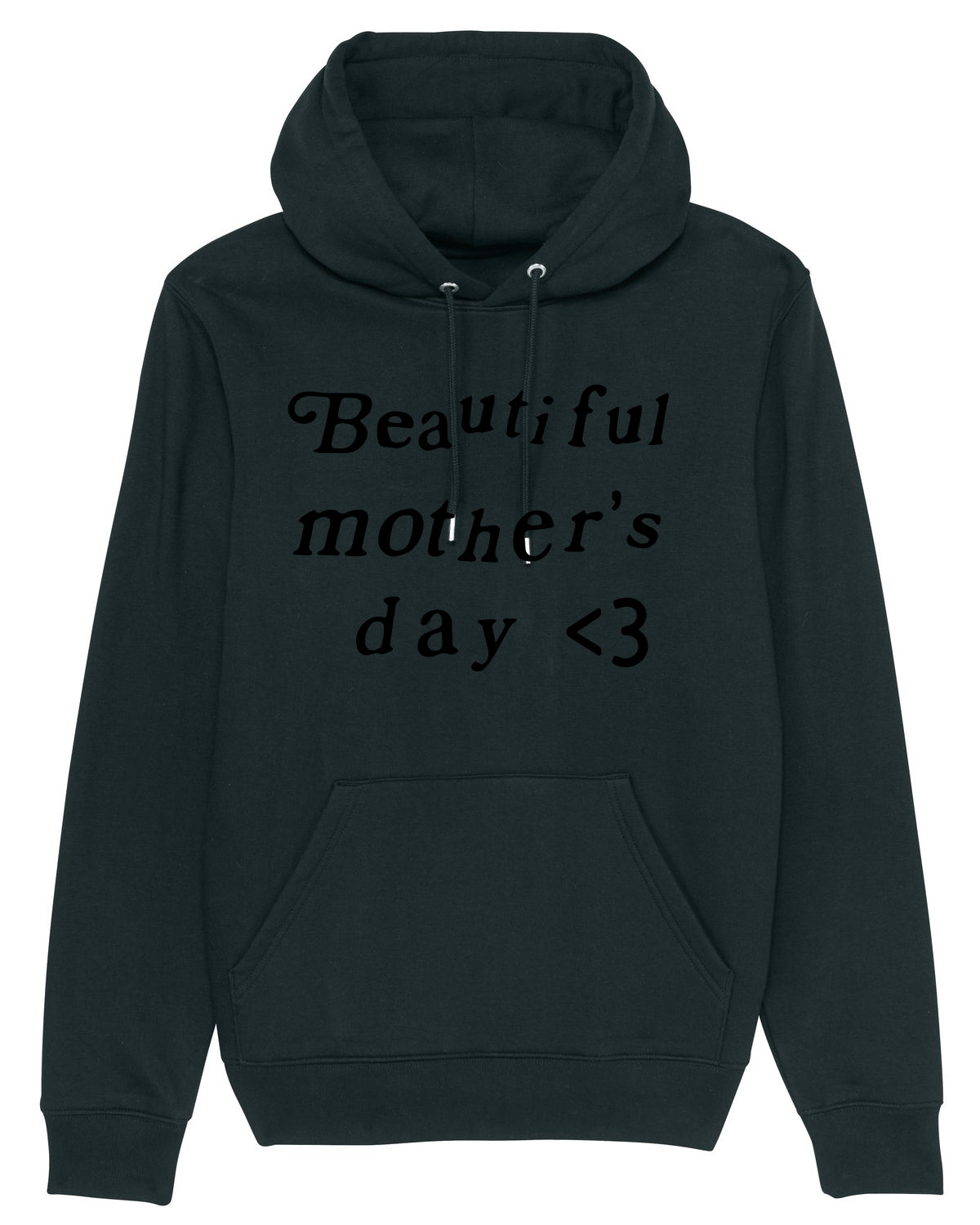 Hoodie Kanye Beautiful mother day Black
