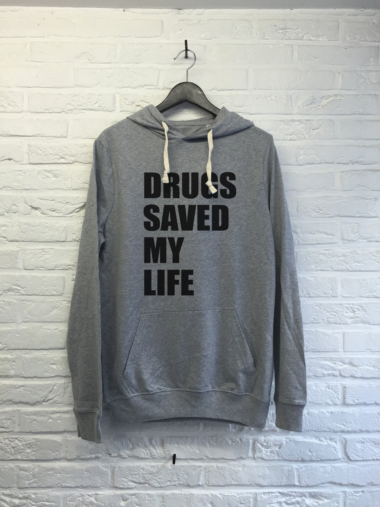Drugs saved my life - Hoodie super soft touch-Sweat shirts-Atelier Amelot