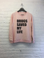 Drugs saved my life - Sweat - Femme-Sweat shirts-Atelier Amelot