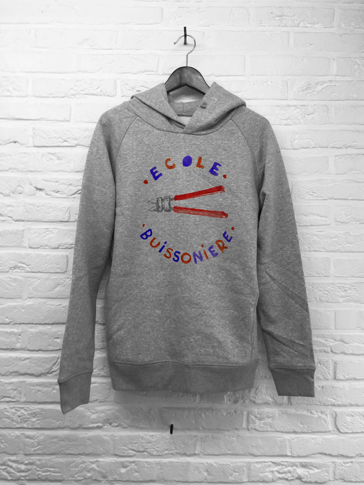 Th Gallery - Ecole Buissoniere - Hoodie Deluxe-Sweat shirts-Atelier Amelot