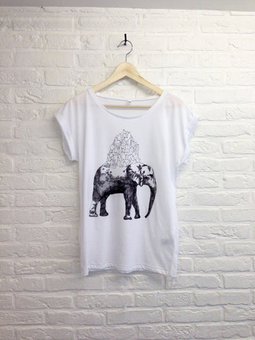 TH Gallery - Elephant - Rolled Sleeve-T shirt-Atelier Amelot