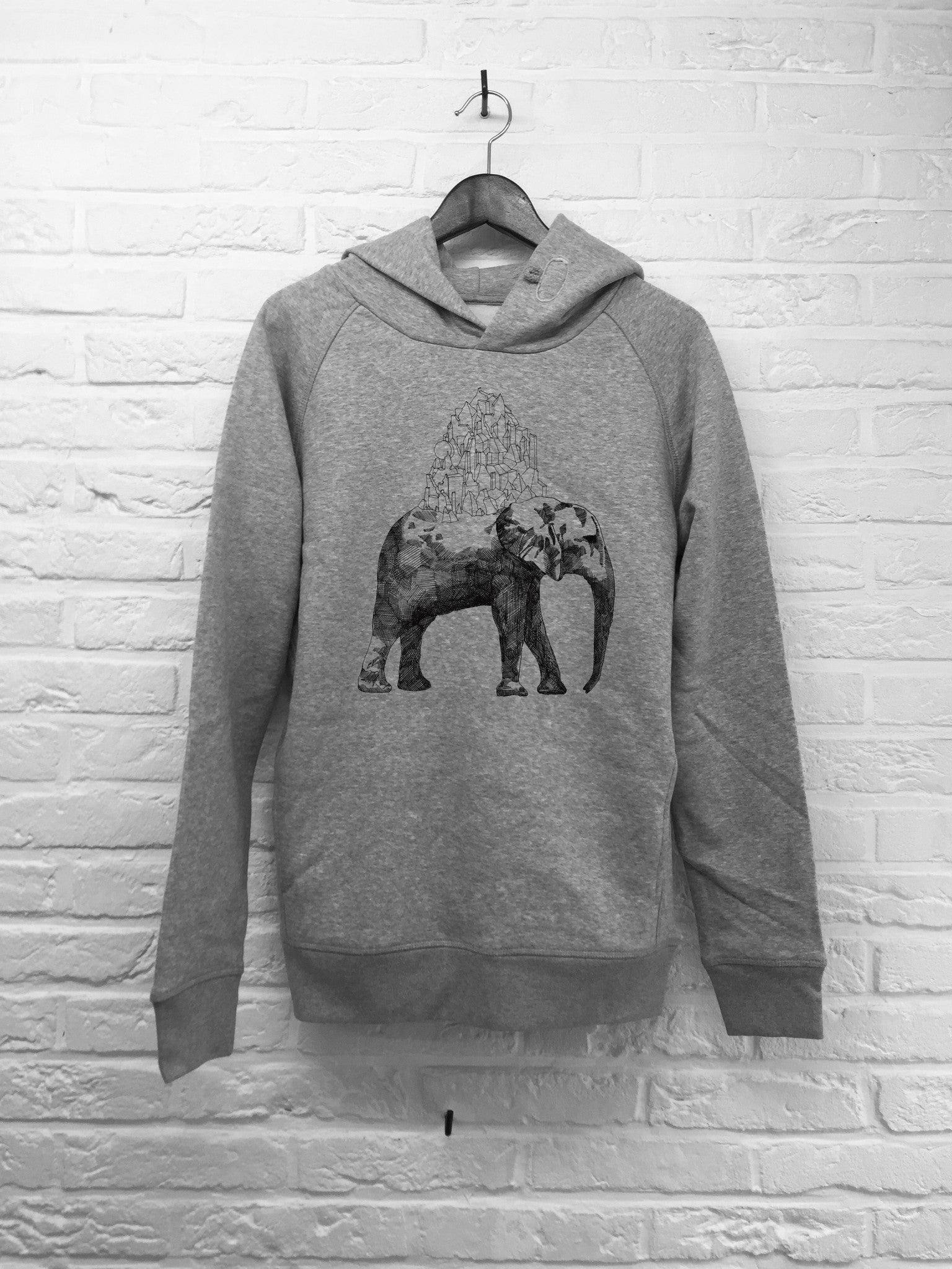 TH Gallery - Elephant - Hoodie Deluxe-Sweat shirts-Atelier Amelot