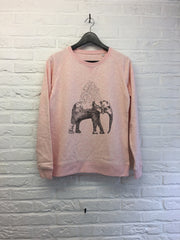 TH Gallery - Elephant - Sweat - Femme-Sweat shirts-Atelier Amelot