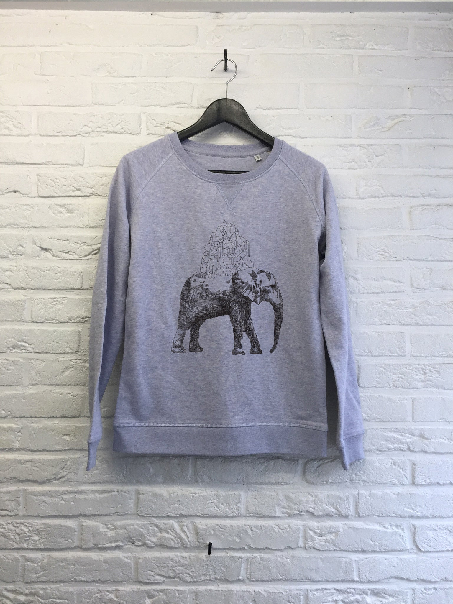 Elephant - Sweat - Femme-Sweat shirts-Atelier Amelot
