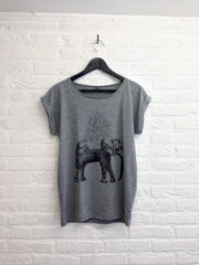TH Gallery - Elephant - Femme-T shirt-Atelier Amelot