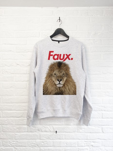 FAUX Lion - Sweat-Sweat shirts-Atelier Amelot