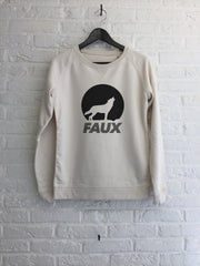 Faux loup - Sweat - Femme-Sweat shirts-Atelier Amelot