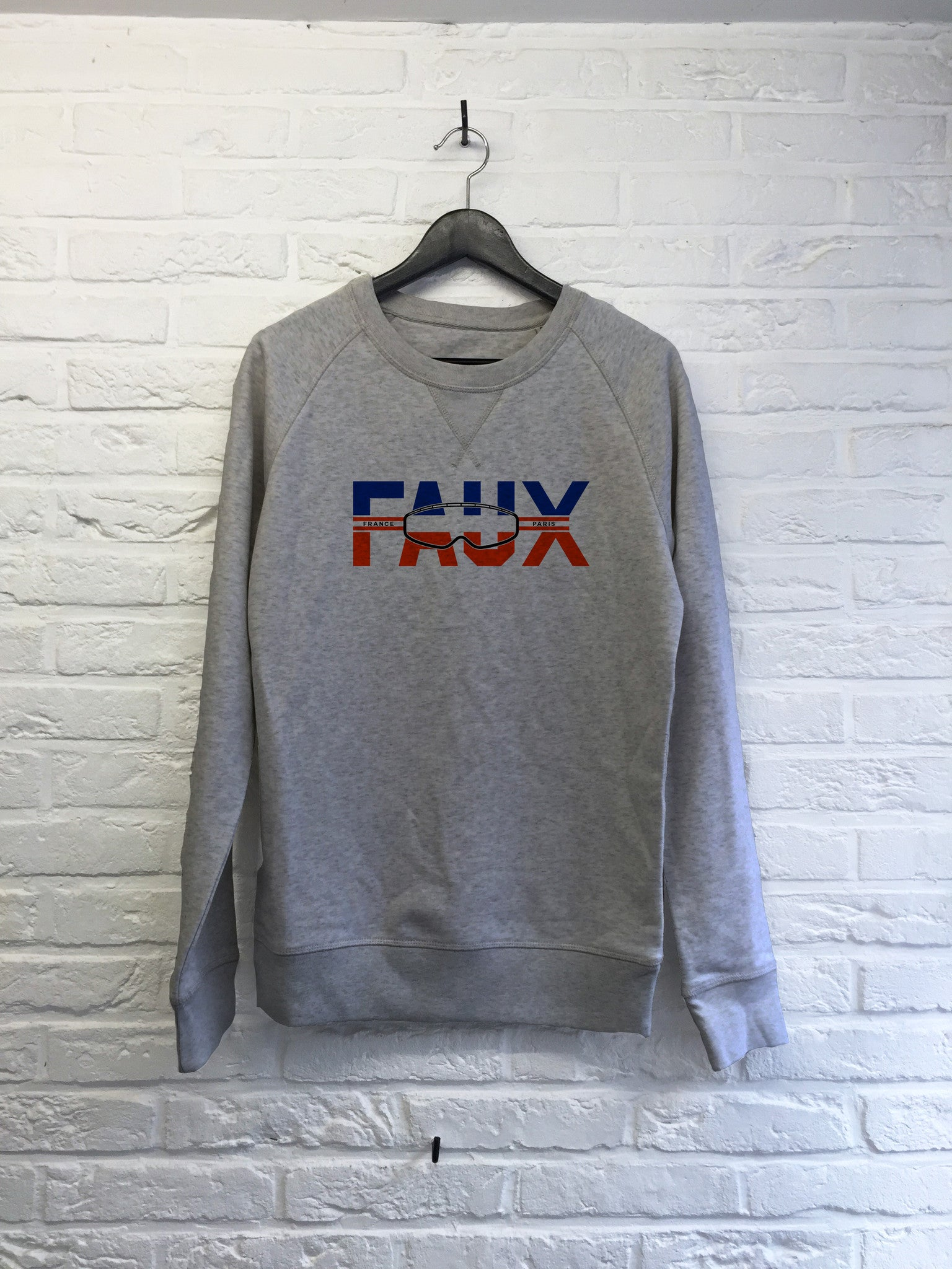 Faux Masque - Sweat Deluxe-Sweat shirts-Atelier Amelot