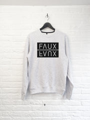 FAUX Mirror - Sweat-Sweat shirts-Atelier Amelot
