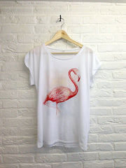 TH Gallery - Just chill Flamant rose - Femme-T shirt-Atelier Amelot