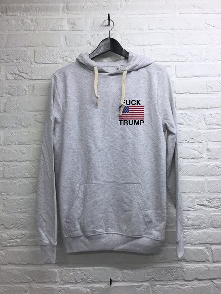 Donald Flag coeur - Hoodie Super soft touch