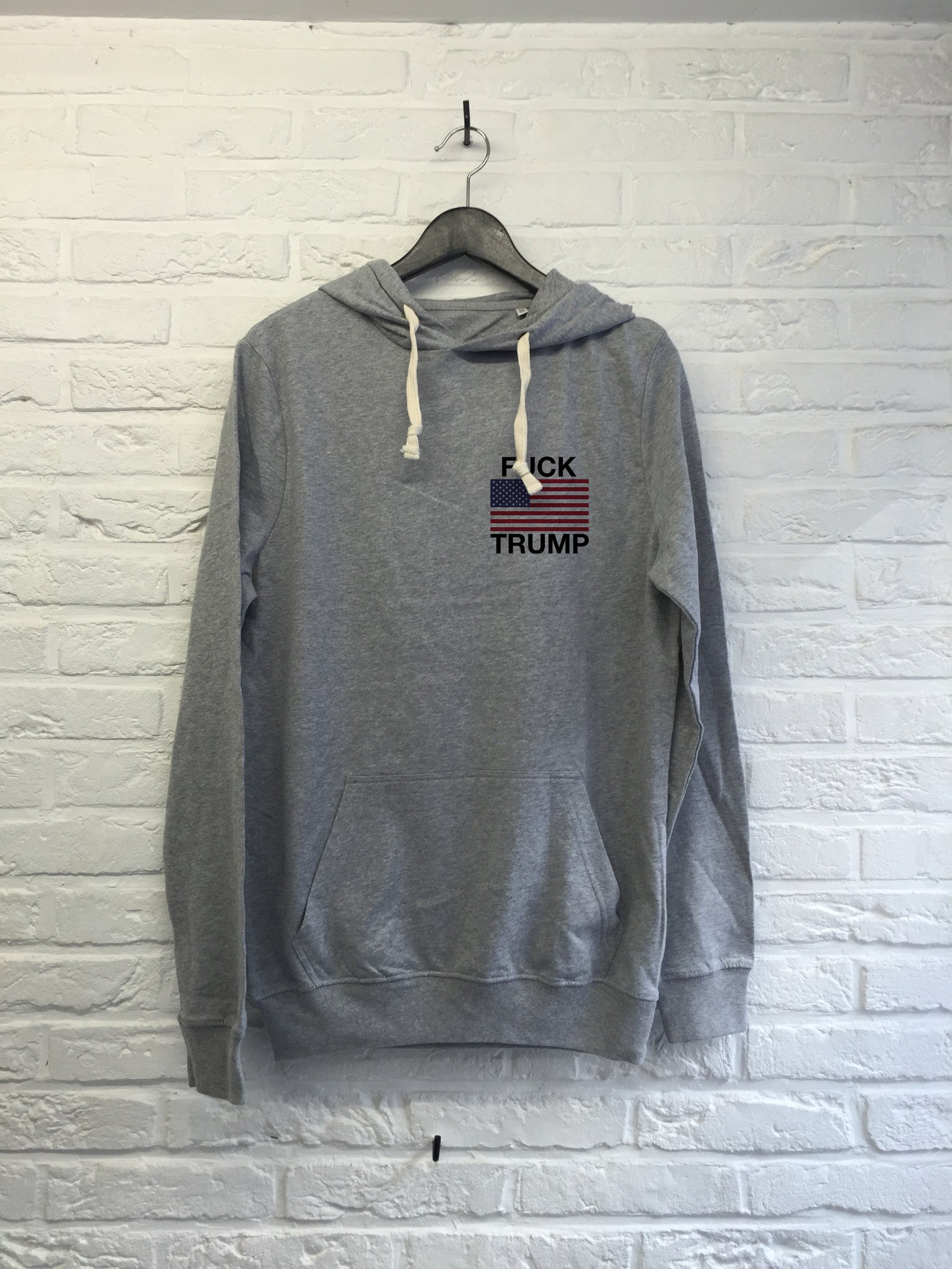 Donald Flag coeur - Hoodie Super soft touch-Sweat shirts-Atelier Amelot