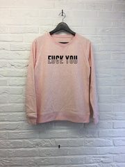 Fuck you Love you - Sweat - Femme-Sweat shirts-Atelier Amelot