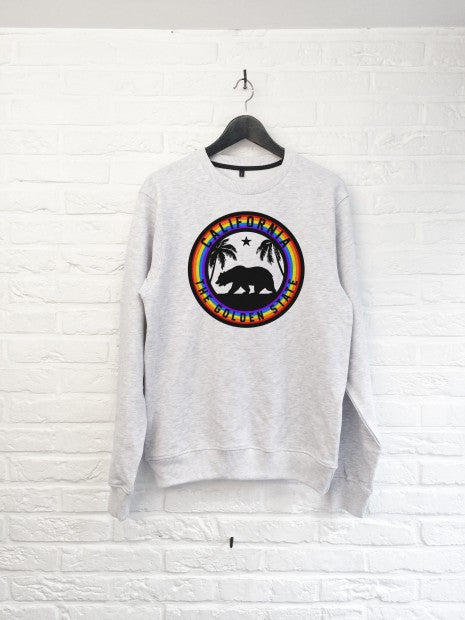 Golden state arc en ciel - Sweat-Sweat shirts-Atelier Amelot