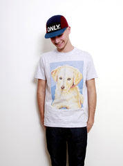 Golden Retriever-T shirt-Atelier Amelot