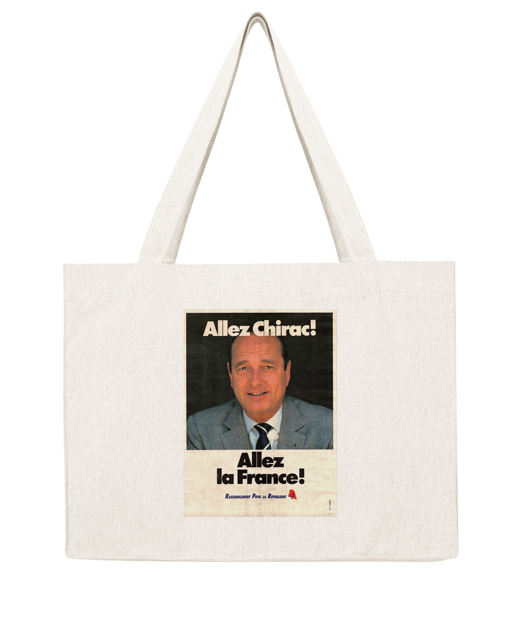 Chirac Allez la France - Shopping bag-Sacs-Atelier Amelot