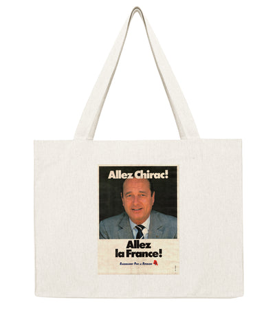 Chirac Allez la France - Shopping bag